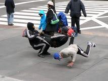 De uitvoerders van de straat, New York stock fotografie