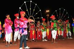 De uitvoerders van Rajasthani royalty-vrije stock foto