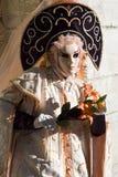 De Uitvoerders van Venetië Carnaval Stock Afbeelding