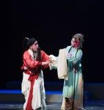 """De uitvoering van een afscheids-verslag van Zuidelijke boeg-Jiangxi opera""""four dromen van linchuan† Stock Foto"""