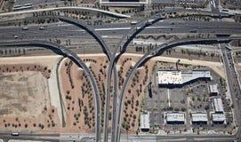 De Uitwisseling van de snelweg Stock Fotografie