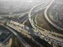 De uitwisseling van de weg. Stock Fotografie