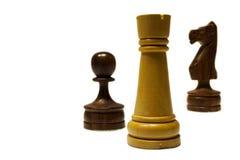 De Uitwisseling van het schaak Royalty-vrije Stock Afbeelding