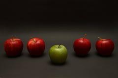 De Uitzondering van de appel Stock Foto's