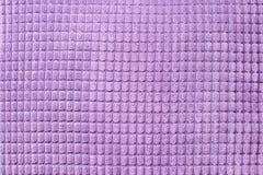 De ultraviolette textiel, sluit omhoog Hoogste mening Abstract geruit patroon Royalty-vrije Stock Afbeelding