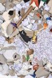 de un envase de reciclaje de papel Imagen de archivo libre de regalías