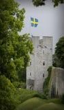 De Unesco-plaats van de werelderfenis visby in sweden.GN Stock Foto's