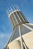 De unieke kathedraal van Liverpool Stock Afbeeldingen