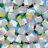 De unieke Kleuren vatten Eigentijds Art Modern Design samen Stock Fotografie