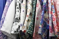 De Uniformen van Multicolored Verpleegster Royalty-vrije Stock Afbeelding