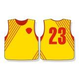 De uniformen van voetbalsporten Royalty-vrije Stock Afbeelding