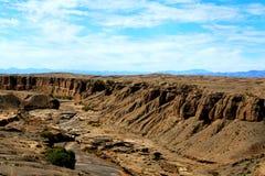 De unika landformsna av Gansu, Kina Fotografering för Bildbyråer