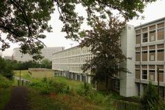 De universitaire bouw, Lille, Nord Pas-de-Calais, Frankrijk Royalty-vrije Stock Foto's