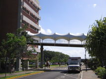 De universitaire bouw, Puerto Ordaz, Venezuela royalty-vrije stock afbeeldingen