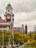 De universitaire heuvel van Syracuse Stock Foto