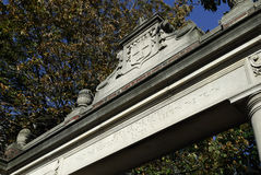 De Universitaire Poort van Harvard Royalty-vrije Stock Afbeelding