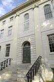 De Universitaire Zaal van Harvard Stock Afbeeldingen
