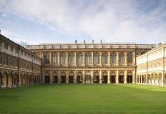 De universiteit Cambridge van de drievuldigheid Stock Foto's