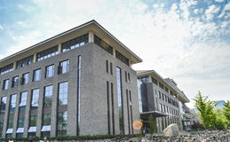 De Universiteit die van Peking 3 bouwen Stock Afbeeldingen