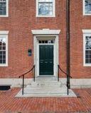 De Universiteit Dorms van Harvard Stock Foto's