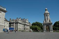 De Universiteit Dublin van de drievuldigheid Royalty-vrije Stock Foto's