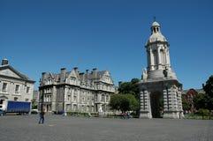 De Universiteit Dublin van de drievuldigheid Royalty-vrije Stock Afbeeldingen