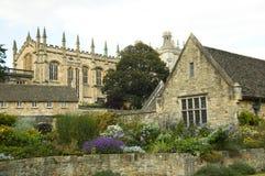 De Universiteit Oxford van Christchurch Stock Afbeeldingen