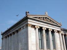 De Universiteit van Athene stock foto's
