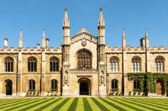 De universiteit van Cambridge stock foto's
