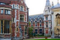 De universiteit van Cambridge Royalty-vrije Stock Afbeeldingen