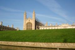 De Universiteit van Cambridge Stock Afbeeldingen