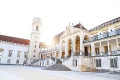 De Universiteit van Coimbra royalty-vrije stock foto's