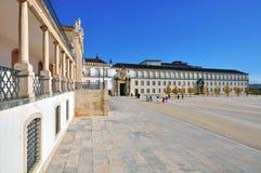 De universiteit van Coimbra Stock Afbeeldingen