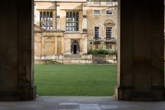 De universiteit van de drievuldigheid Royalty-vrije Stock Afbeeldingen