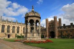 De Universiteit van de drievuldigheid, Cambridge Royalty-vrije Stock Fotografie