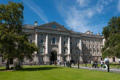De Universiteit van de drievuldigheid, Dublin Stock Afbeelding