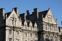 De Universiteit van de drievuldigheid, Dublin royalty-vrije stock afbeeldingen