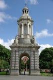 De Universiteit van de drievuldigheid in Dublin, Ierland Royalty-vrije Stock Afbeeldingen