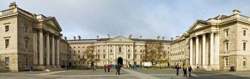De Universiteit van de Drievuldigheid van Dublin stock afbeelding