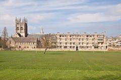 De universiteit van de Kerk van Christus in Oxford Stock Foto
