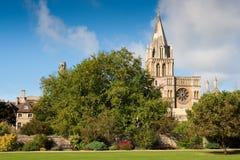 De universiteit van de Kerk van Christus. Oxford, Engeland Stock Foto