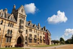De universiteit van de Kerk van Christus. Oxford, Engeland Stock Afbeelding