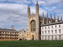 De Universiteit van de koning, de Universiteit van Cambridge Royalty-vrije Stock Afbeelding