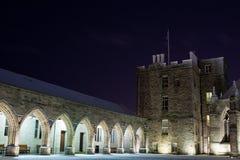 De Universiteit van de koning in de Winter Stock Afbeeldingen