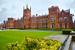 De Universiteit van de koningin van Belfast royalty-vrije stock foto