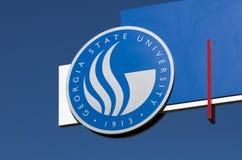 De Universiteit van de Staat van Georgië Stock Foto's
