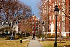 06 04 2011, de Universiteit van de V.S., Harvard, Bloomberg Royalty-vrije Stock Foto's