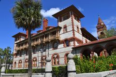 De Universiteit van Flagler in St Augustine Royalty-vrije Stock Foto
