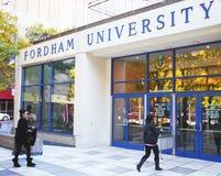 De Universiteit van Fordham Stock Fotografie