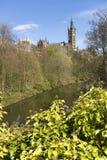 De Universiteit van Glasgow Stock Afbeelding